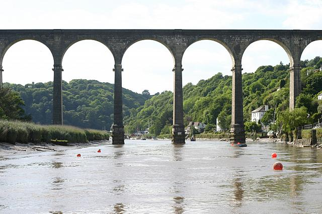 "3rd June 2011 - ""The viaduct at Calstock"""