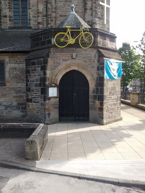 "11th June 2014 - ""Bike on a church"""
