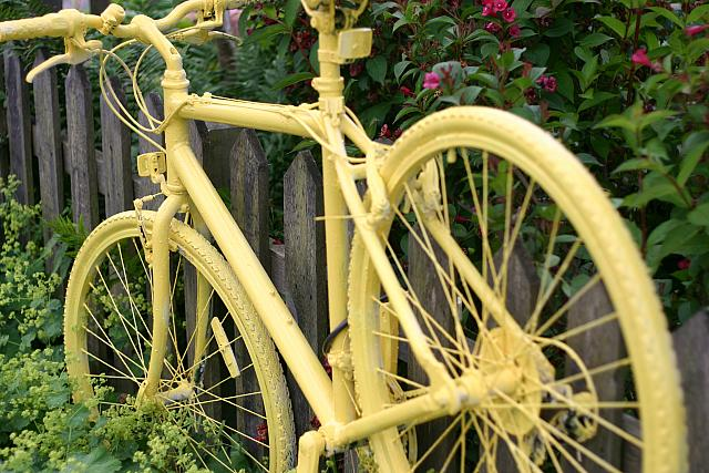 "28th June 2014 - ""Yellow Bike"""