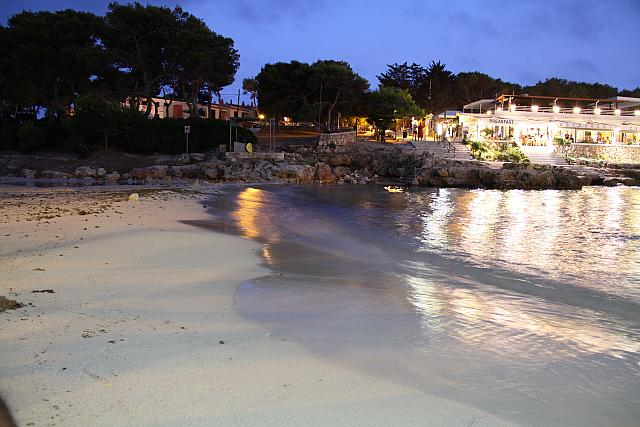 "13th August 2015 - ""Cala Blanca at night"""