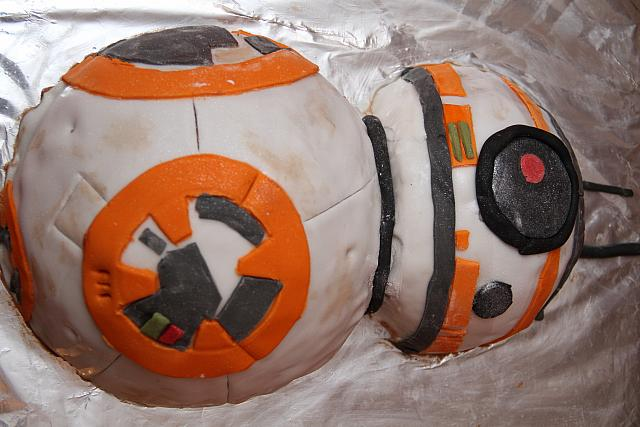 "10th January 2018 - ""BB8 Cake"""