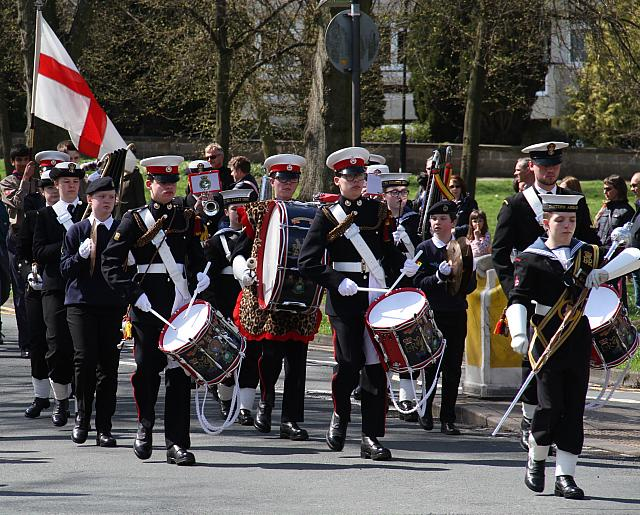 "22nd Aprl 2018 - ""St George's Day Parade"""