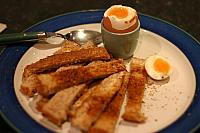 "21st November 2011 - ""Eggs & Soldiers"""