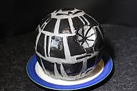 "7th January 2017 - ""Death Star Cake"""