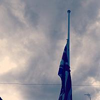"""10th April 2021 - """"Half Mast"""""""